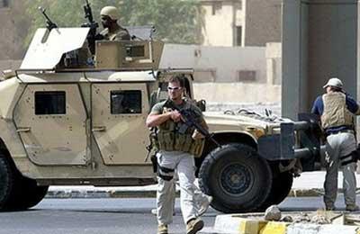 Các nhân viên Blackwater tại Baghdad.