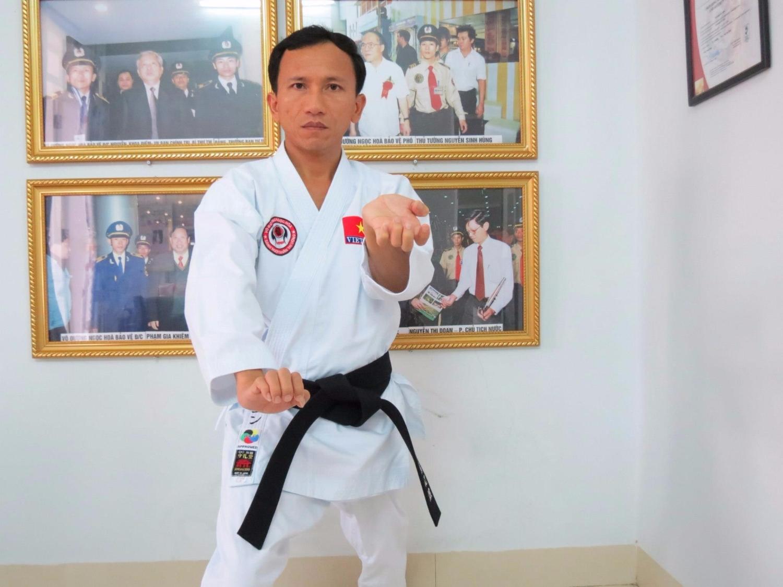 Nguyễn Viết Hòa - người thầy võ thuật